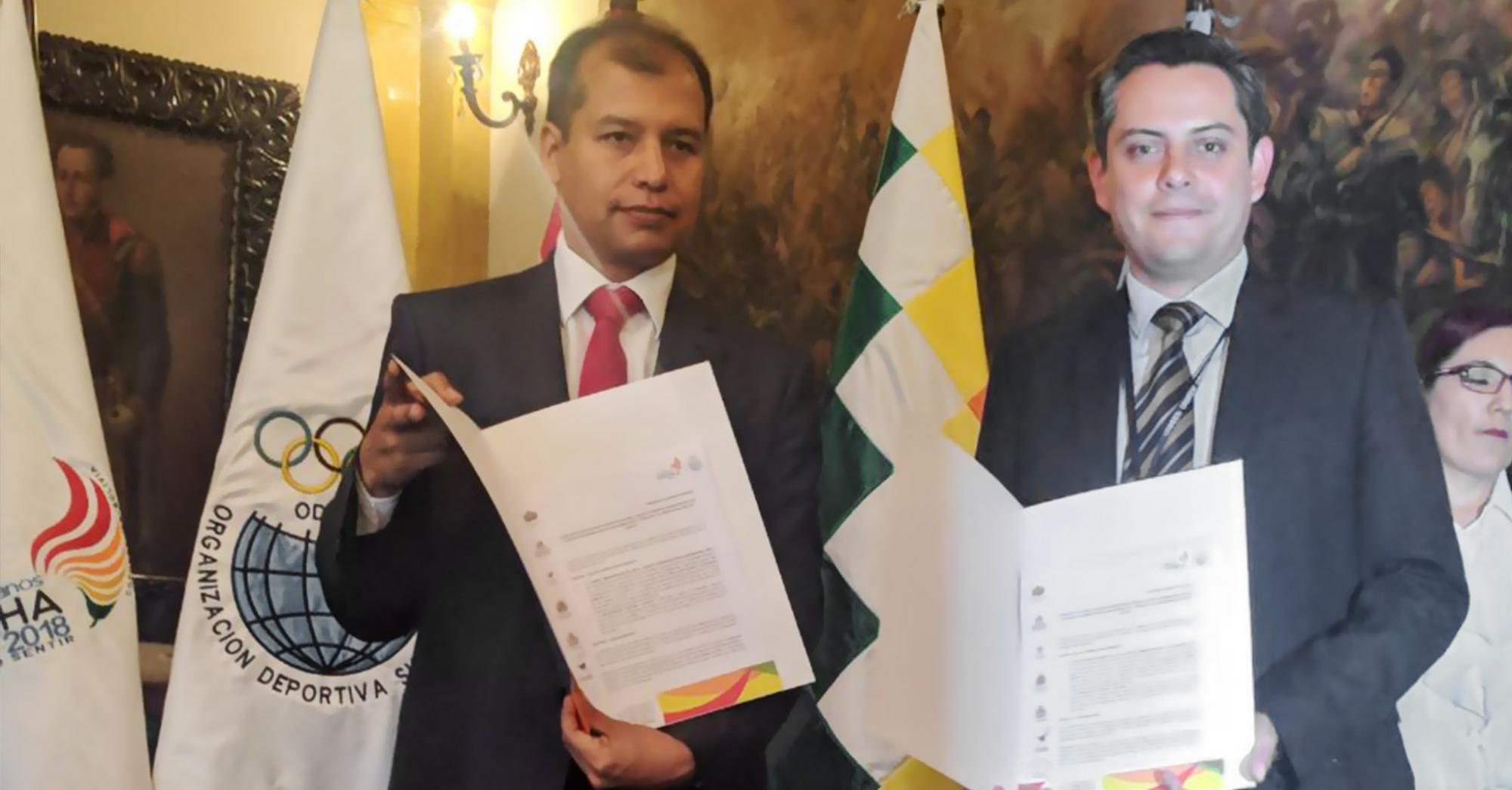 UNICEN Y CODESUR FIRMAN CONVENIO RUMBO A LOS JUEGOS SURAMERICANOS