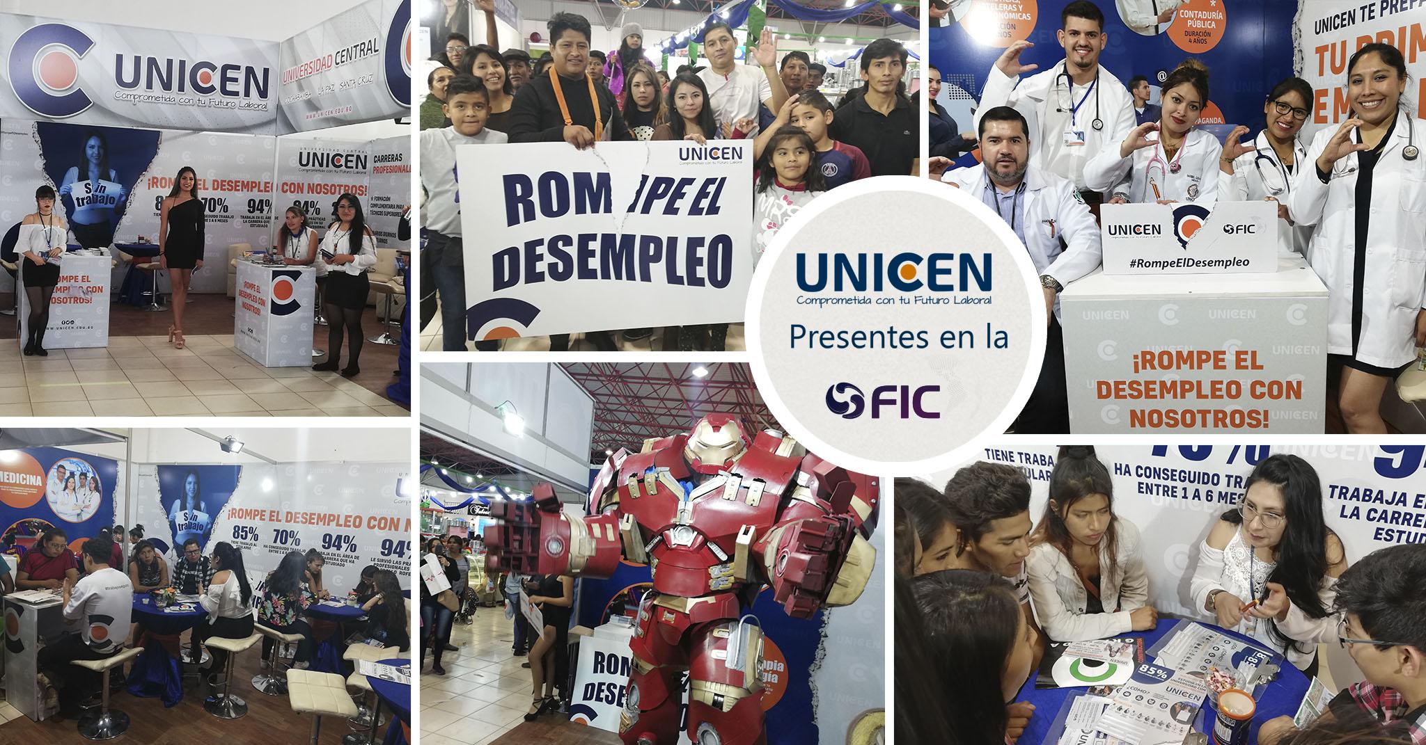 EXITOSA PRESENCIA EN LA FERIA INTERNACIONAL DE COCHABAMBA (FIC 2019)