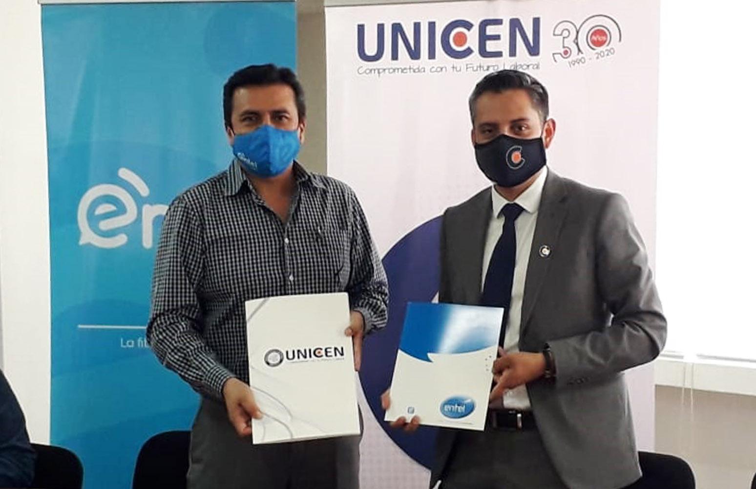 ENTEL y UNICEN firmaron convenio interinstitucional para fortalecer las clases virtuales
