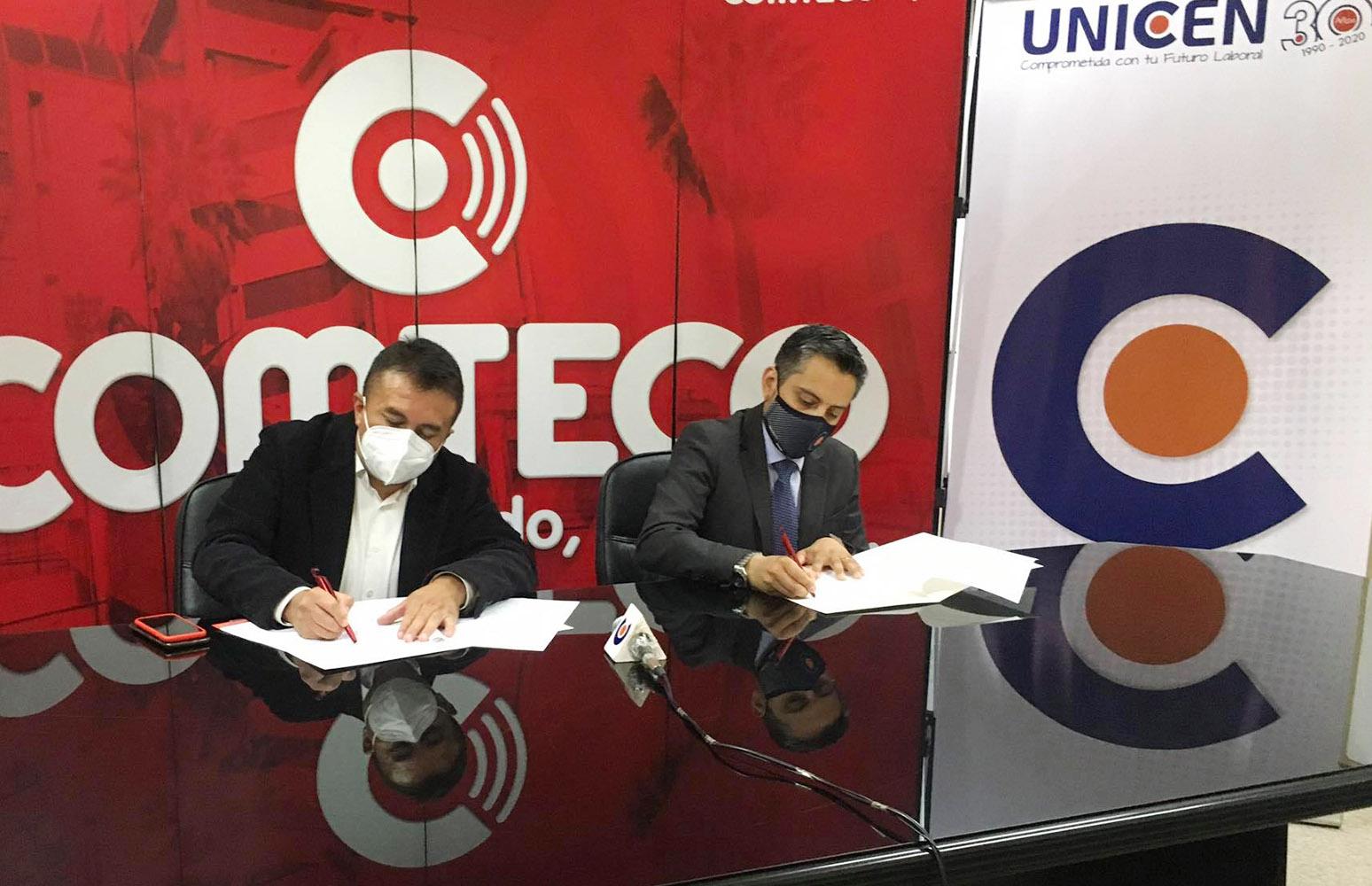 Internet con acceso absoluto a un costo accesible es el convenio que UNICEN firmó con COMTECO