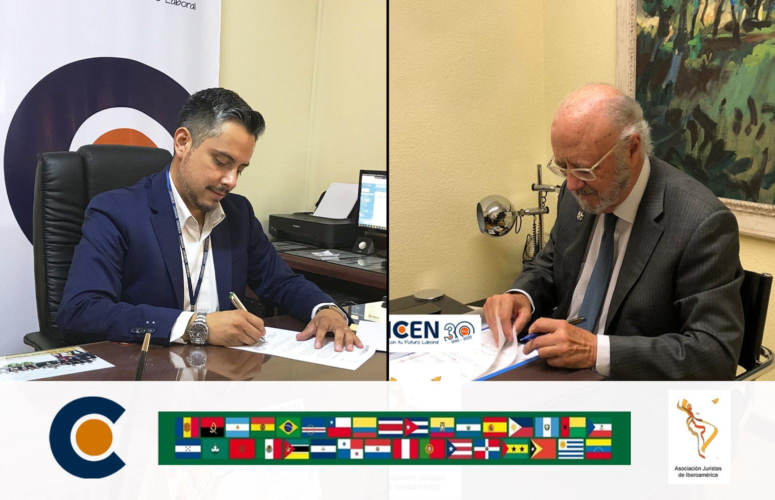 Alianza internacional entre UNICEN y la Asociación Juristas de Iberoamérica (ASJURIB)