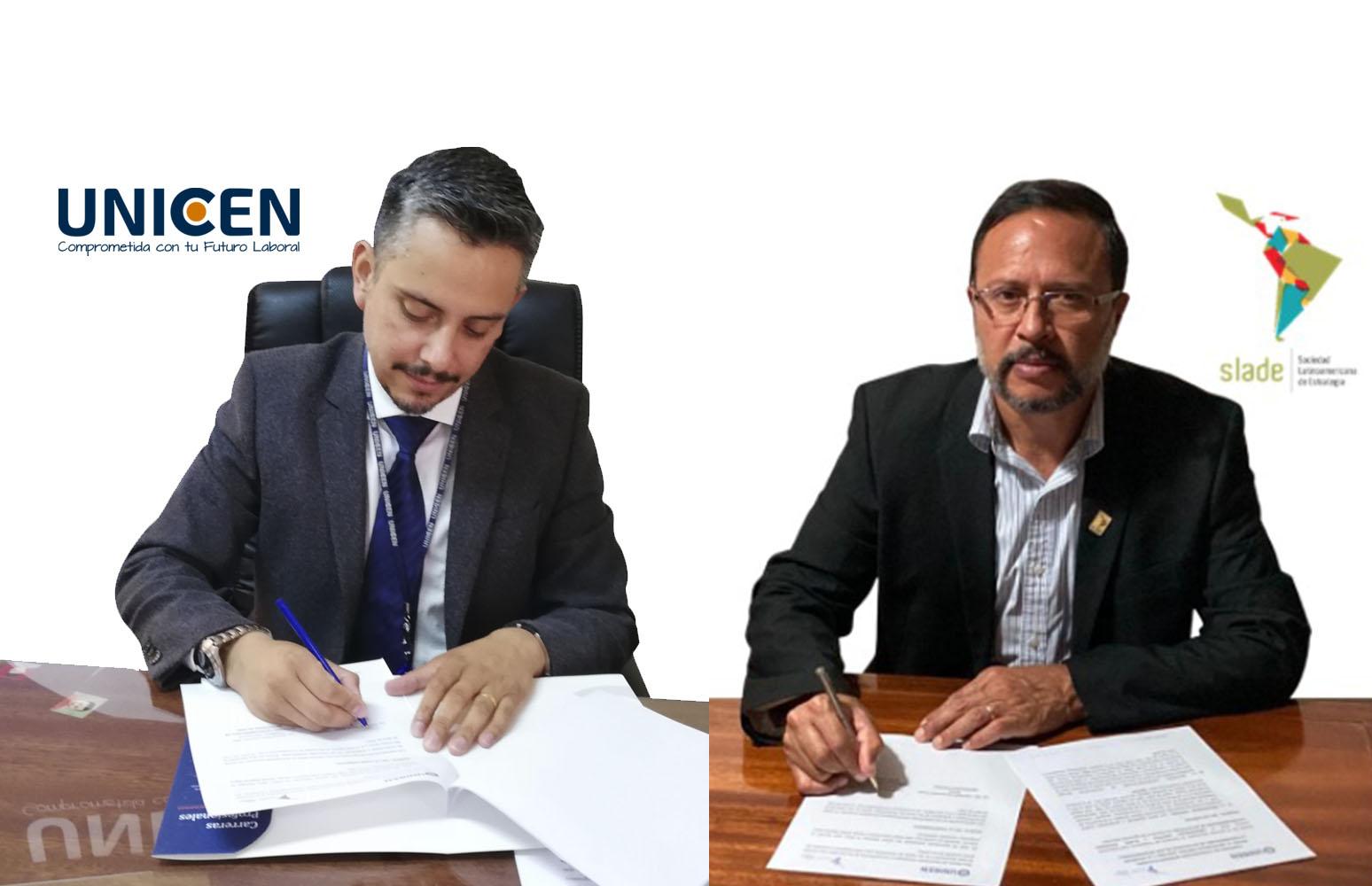 Unicen y Slade Internacional firman convenio interinstitucional
