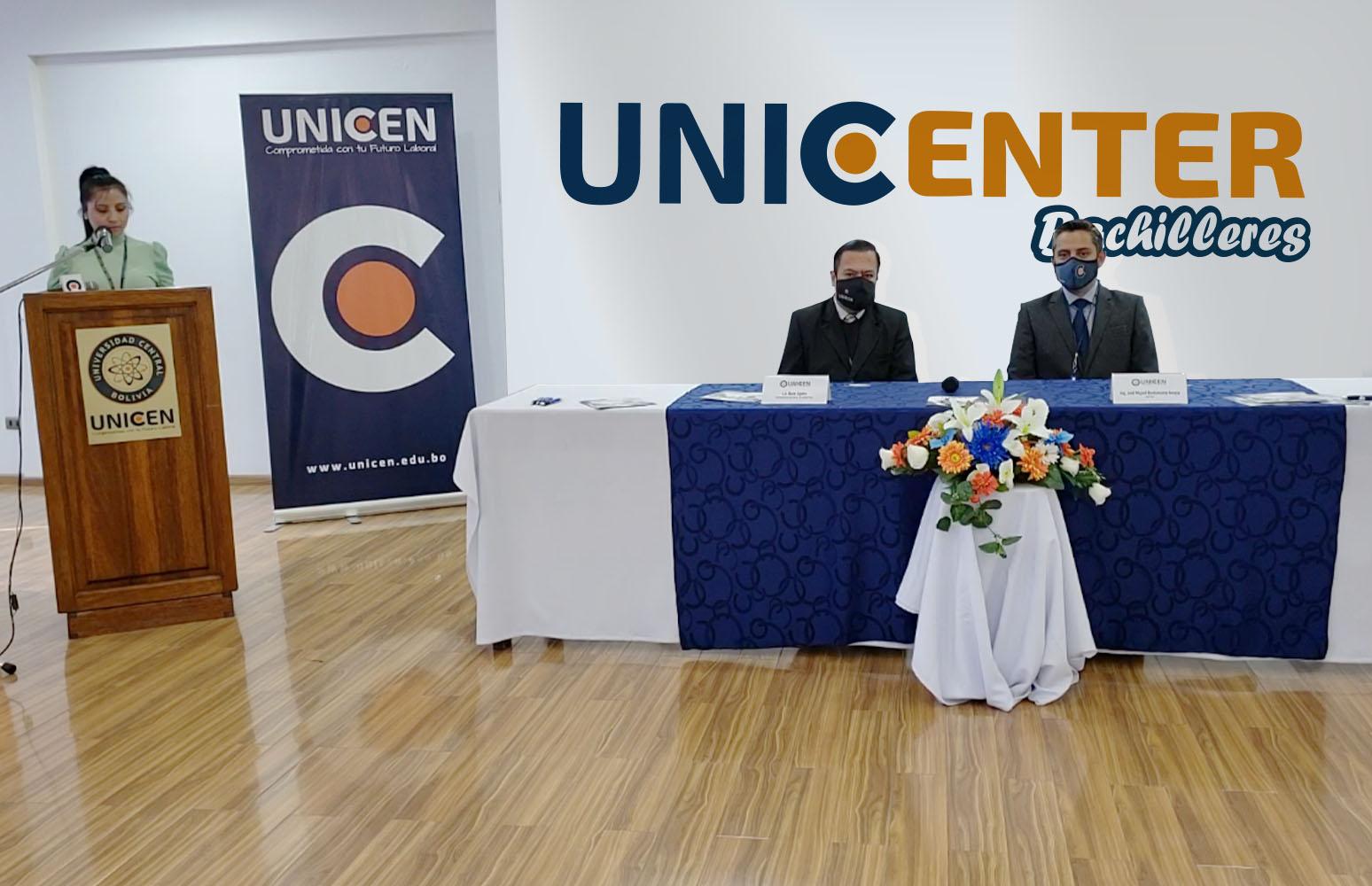 """UNICEN presentó """"UNICENTER"""" su nueva plataforma gratuita de servicios universitarios para bachilleres de Bolivia"""